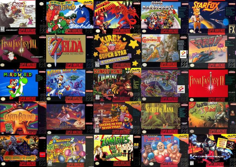 SNES-Games