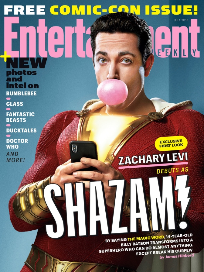 Check out Zachary Levi as Shazam