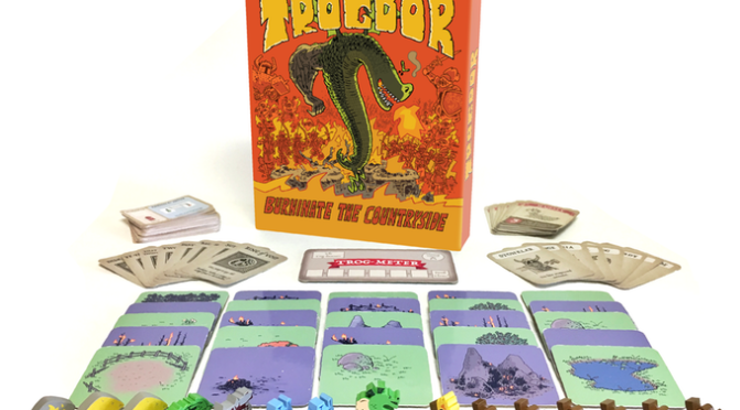 Trogdor!! The Board Game Coming to a Table Top Nearest You